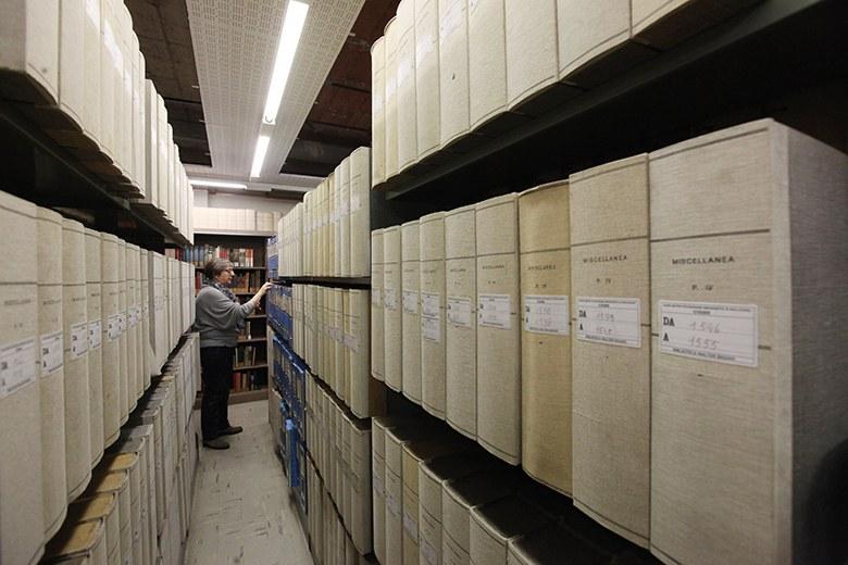 L'archivio della biblioteca